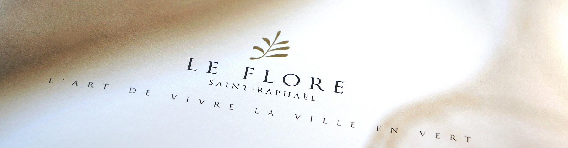Creation de la brochure immobiliere du programme Le Flore, BETRIM