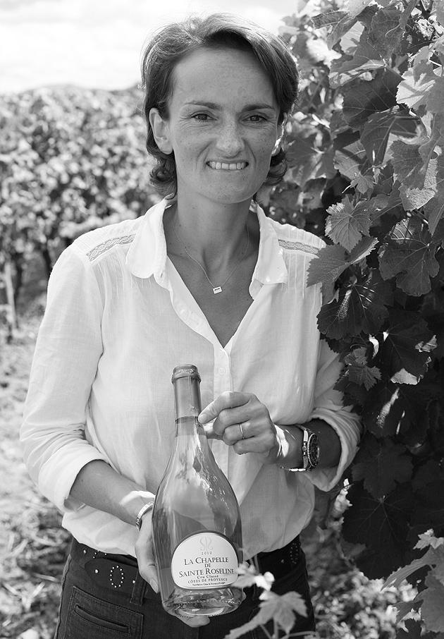 Aurelie Bertin, Directrice du Chateau Sainte-Roseline