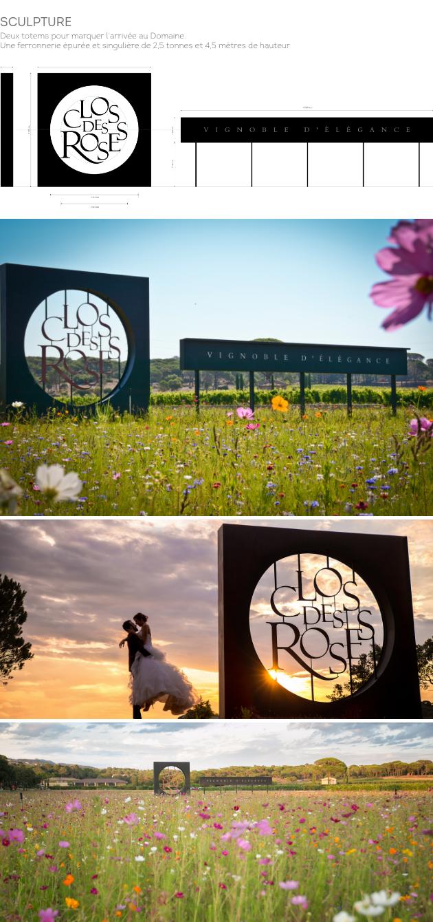 clos des Roses Sculpture