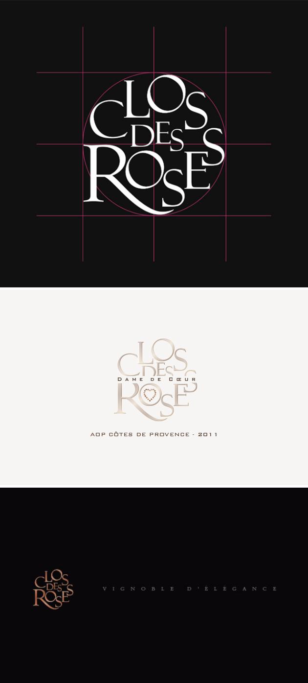 clos des roses - logo