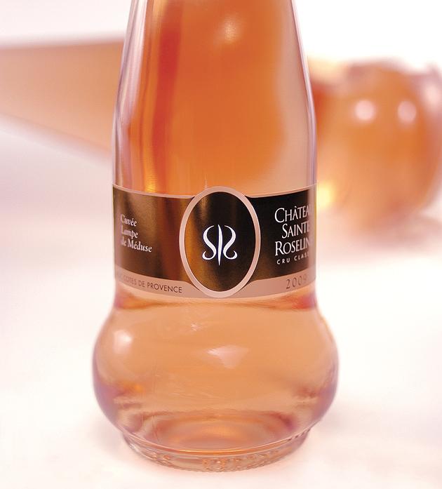 packaging cuvée rosé de provence (PACA, Var)